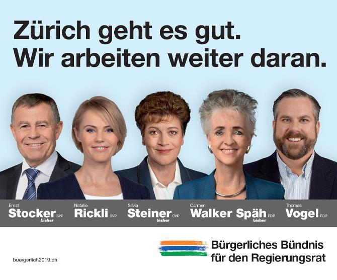 Regierungsratswahlen 2019 - Wichtige Wahlen