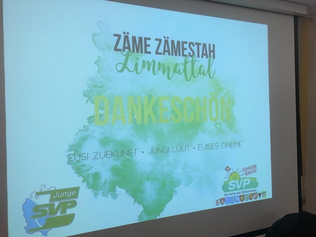 Zäme Zämestah – Aktion der Jungen